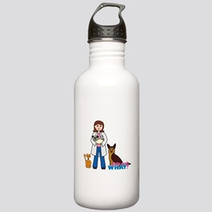 Woman Veterinarian Stainless Water Bottle 1.0L